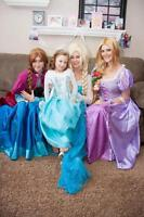 Open auditions to be a princess for children's parties