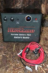 BATTERY BOX 12V  PORTABLE WITH INCAR CHARGE KIT 5 YEAR WARRANTY Valley View Salisbury Area Preview