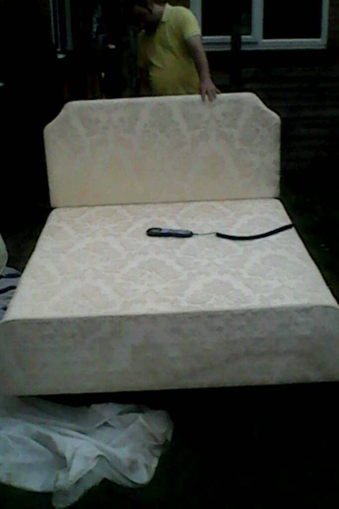 Super Adjustamatic Double Bed Adjustable Massage Functions In Windsor Berkshire Gumtree Inzonedesignstudio Interior Chair Design Inzonedesignstudiocom