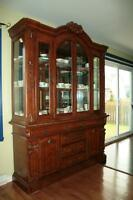 Hutch display cabinet , vaisselier