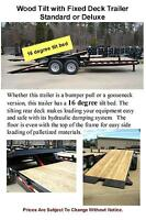 2014 22' Tilt Equipment Trailer 15000 lb GVWR