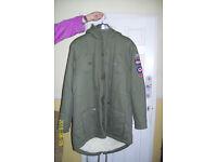 genuine lambretta coat new with tags