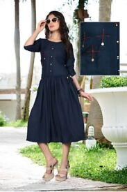 new latest gown type kurtis