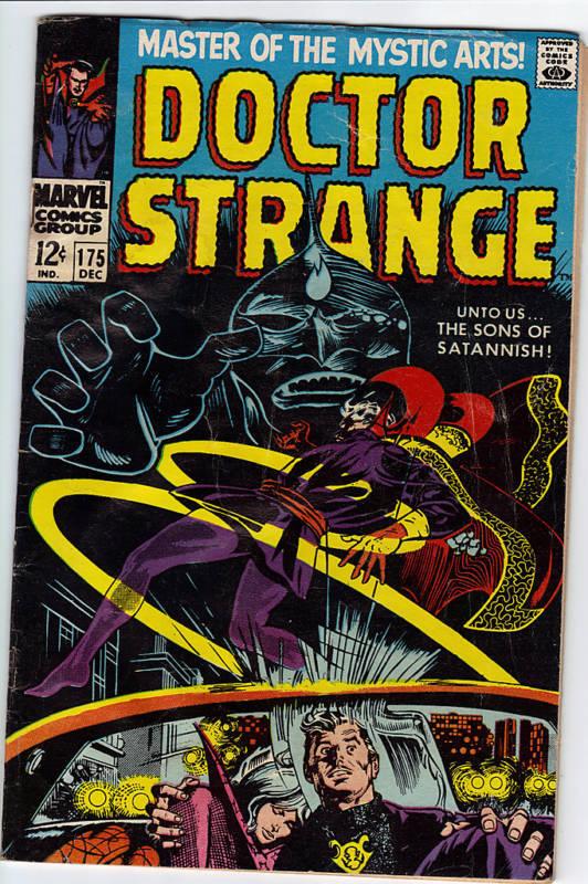 Doctor Strange #175  comic 1968