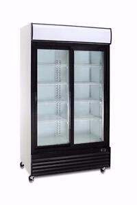 COMMERCIAL GLASS DOOR DISPLAY-Refrigerators and Freezers-CLEARANCE