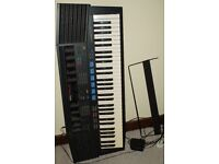Yamaha quality keyboard wit hundreds of sounds/instruments/effects. Handbooks and teaching aids.