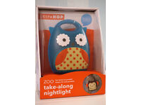 Brand New Skip Hop Zoo Take-Along Night Light (Owl) RRP: £20