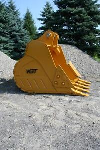 WGT Digging Buckets - Excavator/Backhoe