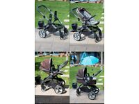 iCandy Peach Travel System + Accessories