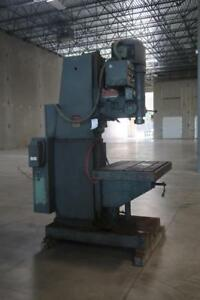 JOHANSSON Radial Arm Drill Press
