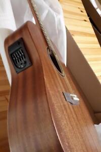 Solid Top Mahogany Acoustic Guitar 41 inch full size iTS1600EQ