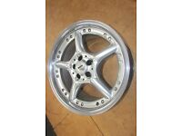 BROCK B9 2 piece Alloy Wheels set of 4 - Ex-Display Clearance Price!!