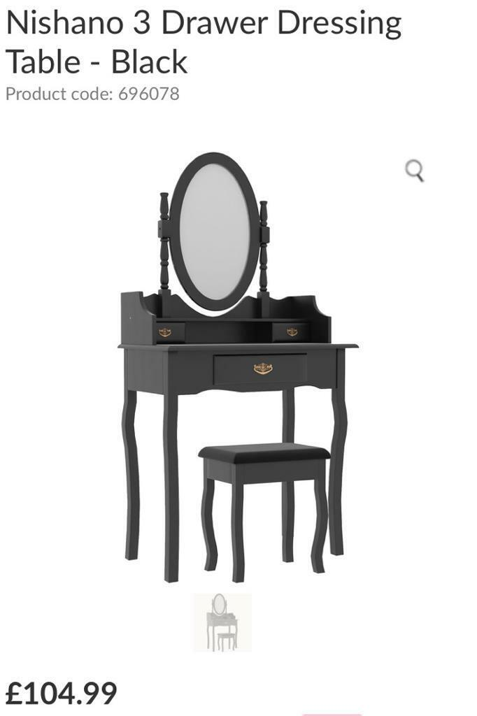 Dressing Table Set With Mirror And, Mirrored Dressing Table Set Gumtree