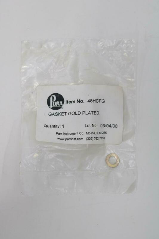 Parr Instruments 48HCFG Gasket Gold Plated