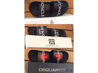 Designer MONCLER GIVENCHE DSQUARED Sliders Slippers