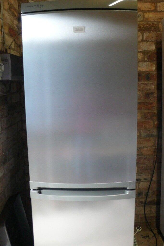 Zanussi Silver Fridge/Freezer
