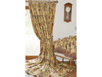 Colefax and Fowler Silk Curtains