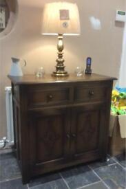 Solid wooden dresser