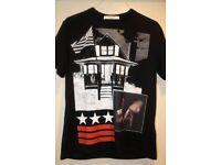 GIVENCHY LA print cotton-jersey T-shirt - Large (Not Gucci, Off White, Fendi)