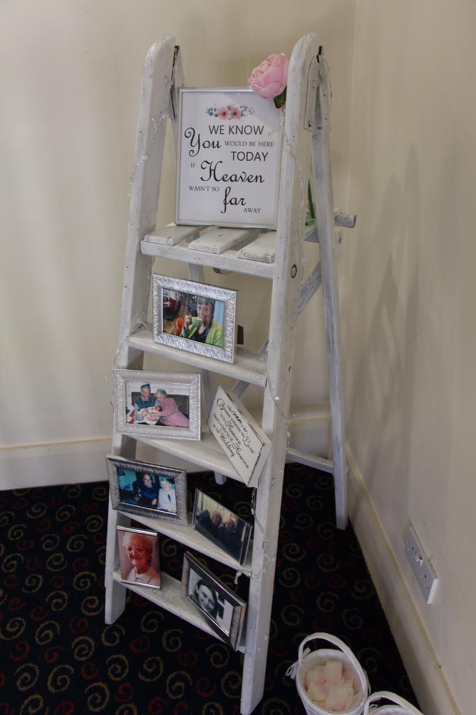 White Memorywedding Ladder In Sunbury On Thames Surrey Gumtree