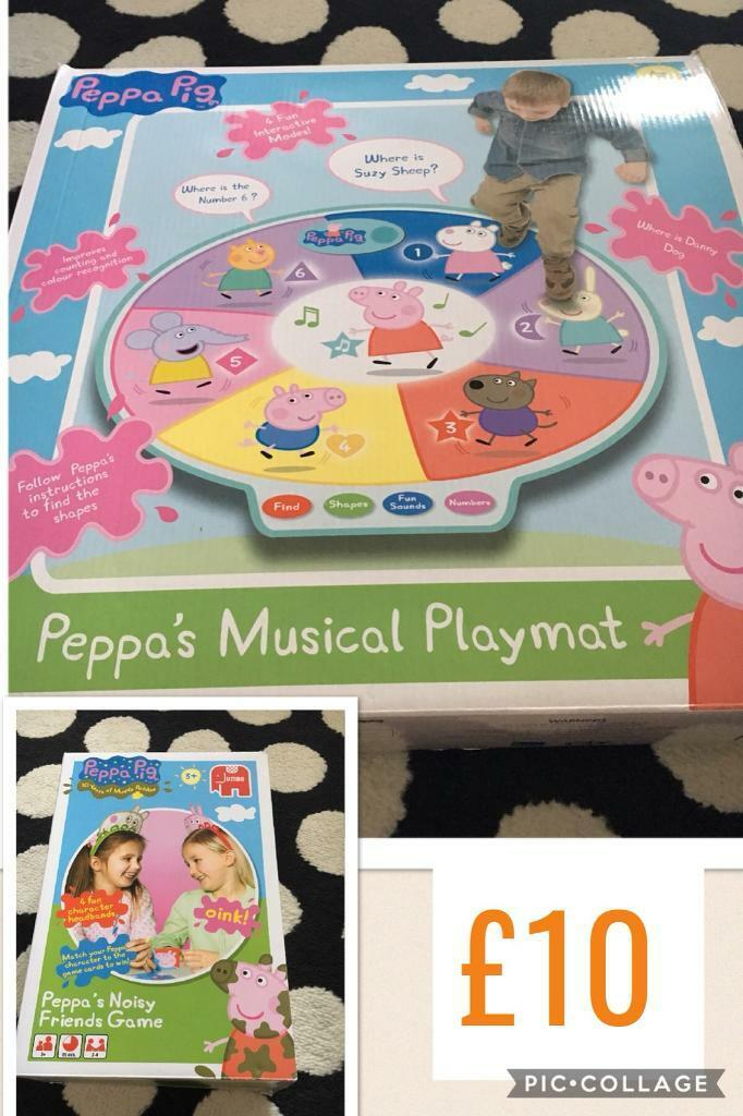 Peppa Pig playmat & noisy friends game