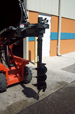 Skid Steer Auger Bit 9 X 3 For Mini Loaders Mcmillen Fits All Round Drives