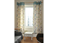 Curtains 114 cm x 228 cm, fully lined