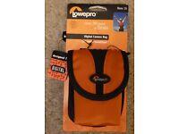 Lowepro Rezo 15 digital camera case burnt orange new