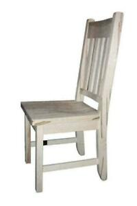 Mennonites Handcrafted Solid Wood Dining Chairs Kits - FREE SHIPPING