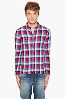 AUTHENTIC MENS DIESEL LUMBERJACK PLAIDED SHIRT SIZE L-XL