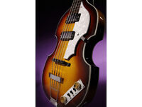 Vintage VVB4 SunBurst Violin Bass guitar, High Quality, New, Warranty,60's style, Play All Styles
