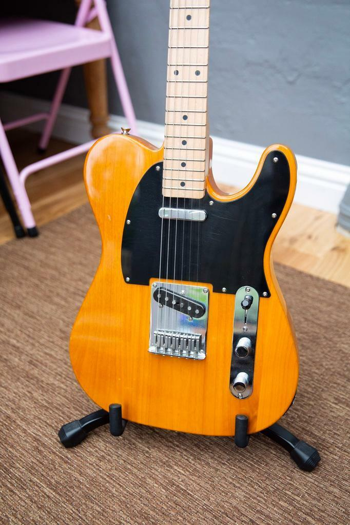 Fender Squier Telecaster with CUSTOM SHOP TEXAS SPECIAL PICKUPS, 4 way  switch mod and pro set up! | in Clapham, London | Gumtree