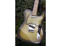 Fender Telecaster - RARE Antigua - CIJ 2002-04. MINT + Tweed Hard Case.