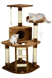 New Go Pet Club Cat Scratcher Cottage 48 Inch, Model: F49 (Pick Up Only) - PU4