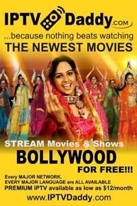 STREAM IPTV in Hindi, Urdu, Punjabi, Bengali, Tamil, Arabic, Latino, & MORE all available from IPTVDaddy