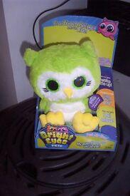 bright eyes interactive electronic pet owl bnib.