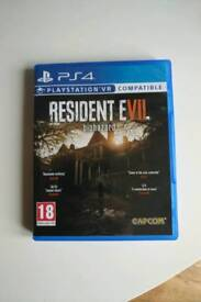 Resident Evil 7 PS4 - never played NEW