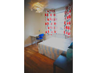 lighty double room near Plaistow, Canning town. short lets accepted.