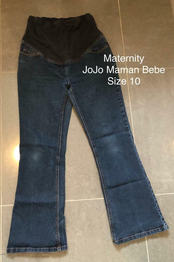 b161a6d5e940c Maternity jeans sizes 10, 12, and 14. JoJo Maman Bebe etc. | in ...