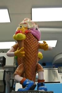 Decorative mascot – Ice Cream Cone – SCREAMS Goloso SG008