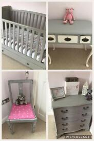 Shabby chic child's bedroom furniture