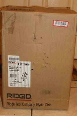 Ridgid K-50 230v Sectional Drain Cleaning Machine - New