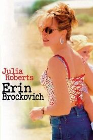 Erin Brockovich - played by Julia Roberts - still wrapped