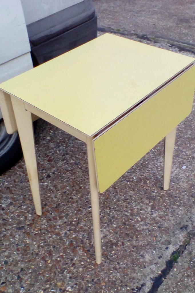 Vintage Remploy Formica Topped Drop Leaf Table in Lower  : 86 from www.gumtree.com size 682 x 1024 jpeg 89kB