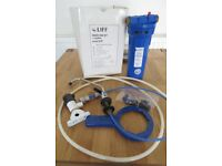 LIFF UNDER SINK WATER FILTER KIT MODEL NCP1 (USED)- NR12 TUNSTEAD AREA