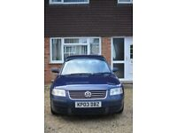 Volkswagen Passat 1.8 Petrol for Sale (Spares or Repairs only)