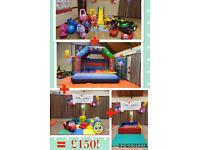 LittleTinkers Party Hire, Bouncy Castle, Soft Play, Ride on Toys