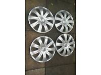 4 toyota yaris original wheel trims