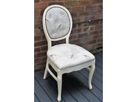 shabby chic french style occasional chair