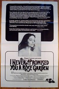 I never promised you a rose garden 1977 movie - Never promised you a rose garden ...